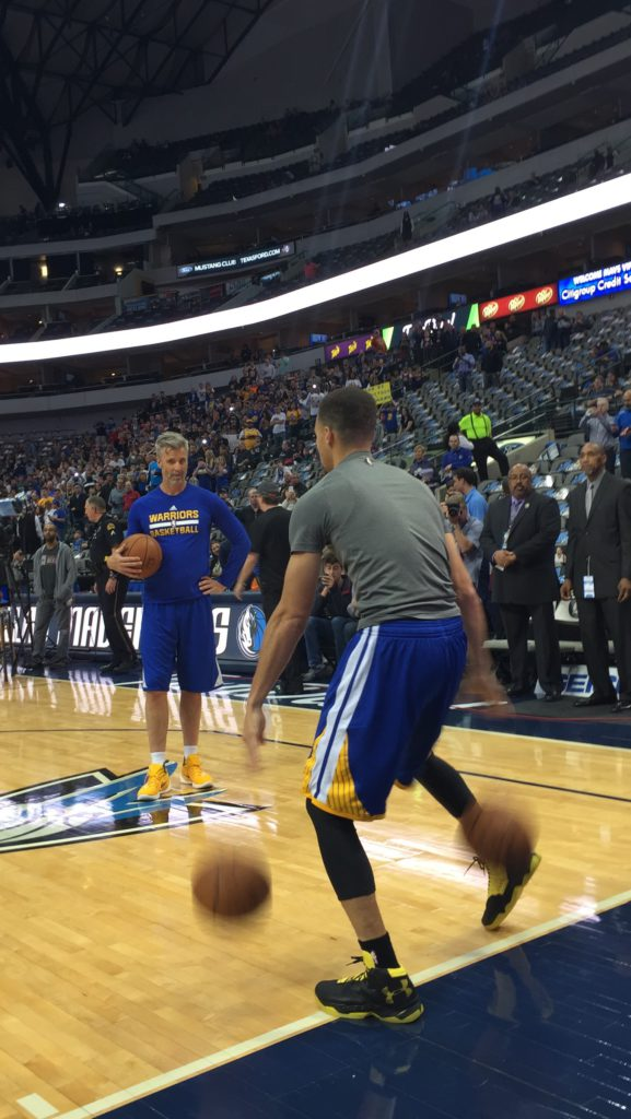 Curry warmup 2
