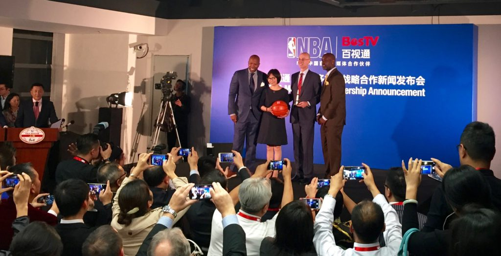 Rueda de prensa - NBA China