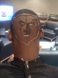 Tony Allen Grizzly Haircut